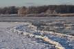Zimowa rzeka Autor Krzysztof Sawko