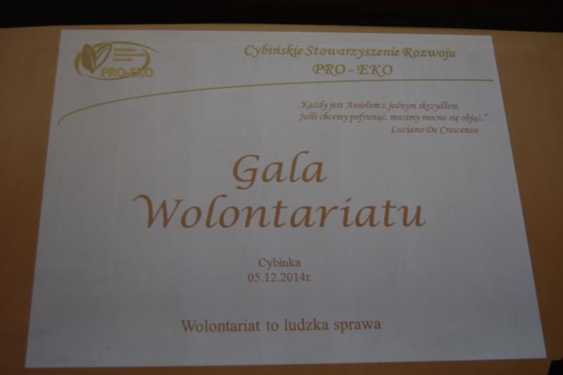 Gala Wolontariatu