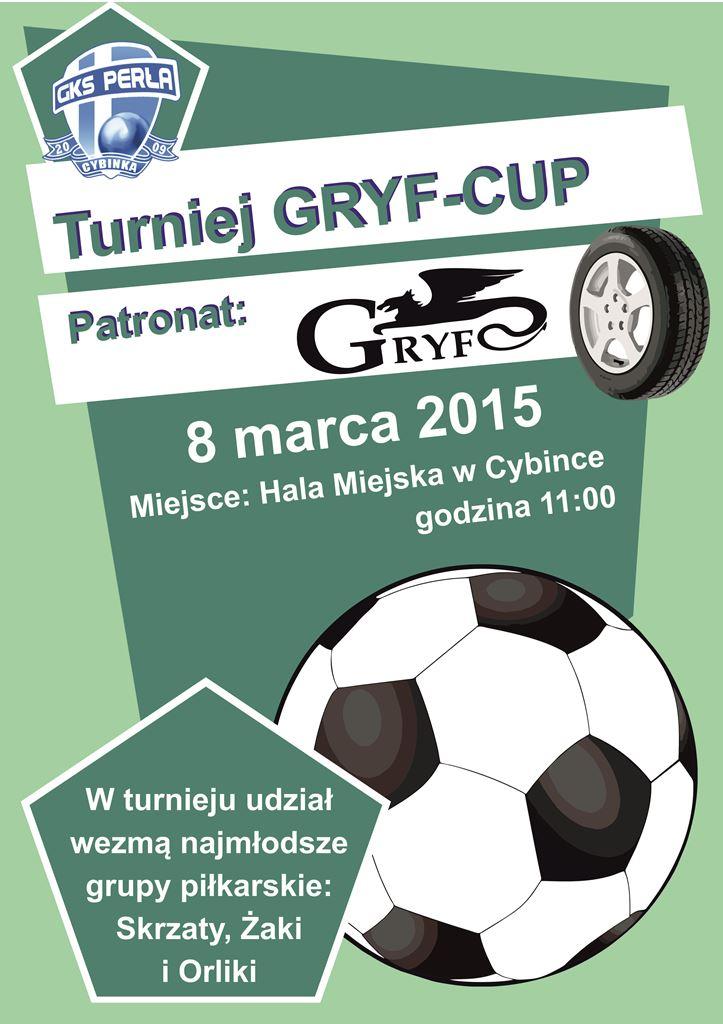 Turniej Piłki Nożnej Halowej - GRYF-CUP