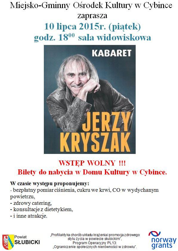 Kabaret - Jerzy Kryszak