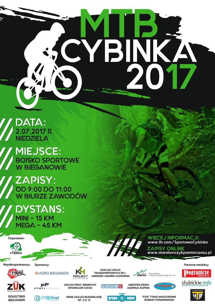 Maraton MTB Cybinka 2017