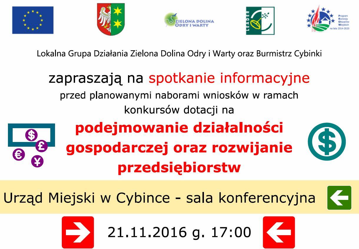 Zaproszenie na spotkanie informacyjne