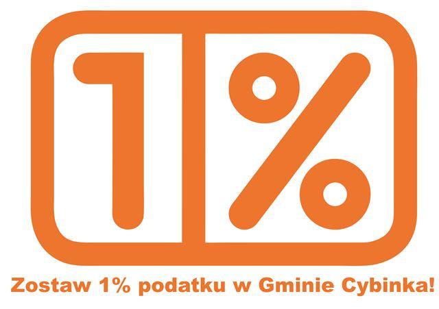 Zostaw 1% podatku wGminie Cybinka!